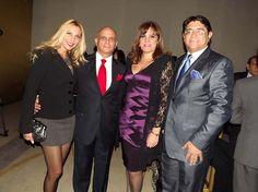 Liliana Barrera, Carlos Canales e invitados durante la noche de gala.