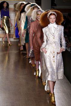 L´Wren Scott Fall Winter 2013 collection Fashion Photo, Love Fashion, Runway Fashion, Fashion Models, High Fashion, Fashion Design, L'wren Scott, Mick Jagger, Vintage Dresses