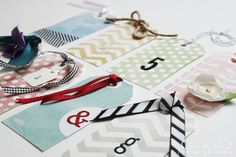 diy gift tags {with template} and watercolor printable paper