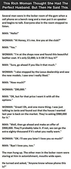 Funny Quotes QUOTATION – Image : Quotes about Funny – Description This woman thought she had the perfect husband until he said this funny quotes marriage jokes lol humor Sharing is Caring – Hey can you Share this Quote ! Funny Happy, Funny Love, The Funny, Funny Man, Daily Funny, Joke Stories, Short Stories, Women Jokes, Funny Texts