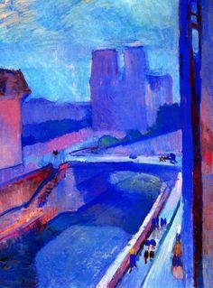 Henri Matisse - Notre Dame sunrise