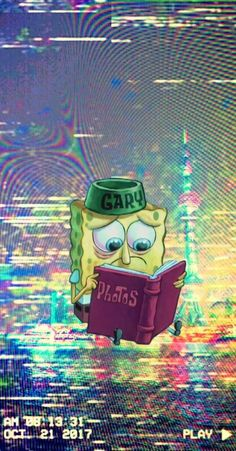 ideas wallpaper iphone cartoon spongebob for 2020 Iphone Cartoon, Cartoon Wallpaper Iphone, Trippy Wallpaper, Homescreen Wallpaper, Sad Wallpaper, Iphone Background Wallpaper, Aesthetic Iphone Wallpaper, Disney Wallpaper, Aesthetic Wallpapers