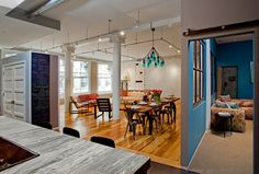 Houzz Tour: Salvage Gives a Manhattan Loft Industrial Flair; Reclaimed pieces create casual elegance while honoring this former textile factory's roots