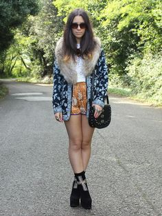 eclectic bohemian outfit