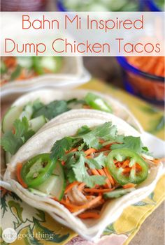 We're putting a new spin on Taco Tuesday! Save time, money, and your sanity with these super easy Dump Chicken Tacos - perfect for any night of the week!