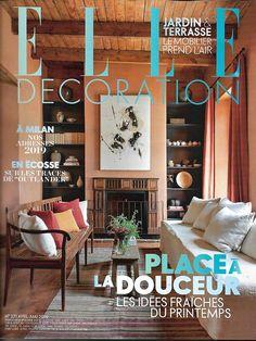 32fbfd6c4f ELLE DECORATION n°271 avril-mai 2019 Place à la douceur/ Jardin &