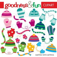 Buy 2, Get 1 FREE - Smitten With Mittens Clipart - Digital Winter Accessories Clipart - Instant Download by goodnessandfun on Etsy https://www.etsy.com/uk/listing/62622972/buy-2-get-1-free-smitten-with-mittens