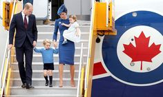 dailymail:  Canada Tour, Day 1, Victoria, British Columbia, September 24, 2016-Duke and Duchess of Cambridge with Prince George and Princess Charlotte