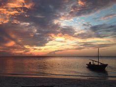 Sunset at Maafushi, Maldives