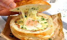 Cheese and Garlic Crack Bread (Pull Apart Bread) - RecipeTin Eats Menu Brunch, Breakfast And Brunch, Breakfast Recipes, Brunch Ideas, Sunday Brunch, Cheese Dishes, Cheese Bread, Cheese Recipes, Egg Recipes