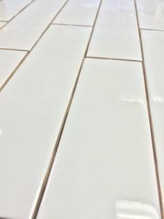 Clearance Metro Subway Tile Bright White 2 X 8 Ceramic Wall 65 Per Square Foot 9 Pieces