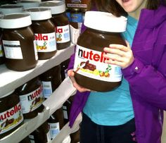 Huge nutella jars at Costco? Yes!