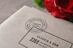 Penned and Pretty...A Calligraphy Shop: ...Kraft Paper Envelopes, Stickers and Cute Party Buttons...