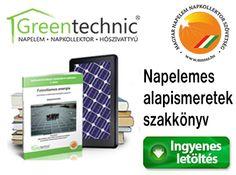 Fotovillamos energia - Napelemes alapismeretek szakkönyv