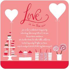 Valentine Invite | Enrichment | Pinterest | Walentynki, Imprezy i ...