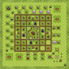 War Base Town Hall Level 10 By Joshua Rarick (Level 8 TH 10 Layout)