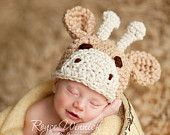 Little Giraffe Hat Crochet