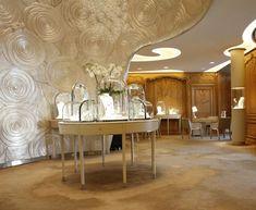 Boutique Van Cleef & Arpels Place Vendôme Paris, Design Patrick Jouin / copyright Eric Laignel