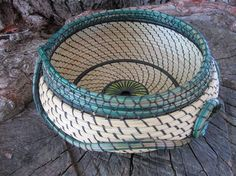 basket made from sweetgrass and pine needles