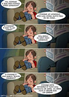 Cartoon: A razão das coisas