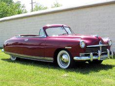 @KatieSheaDesign ♡❤ #Cars ❥  1949 Hudson SuperSixConvertible