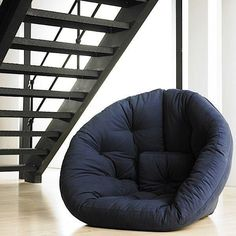 NIDO NEST, lounge Chair the day, Futon at night, the perfect size for teens - deco and design
