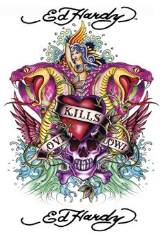 Ed Hardy - Pictures, Images & Photos - PicturesCafe