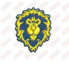 WOW Alliance Logo Machine Embroidery Design File Embroidery Files, Machine Embroidery Designs, Alliance Logo, Design Files, Logos, Logo, Legos