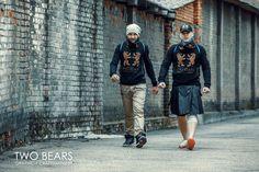 #twobearsbrand #clothsmen #bear #sportwear #pride #twobears #bearwear #tanktop #tshirt #fetish Sport Wear, Bears, Pride, Denim, Tank Tops, How To Wear, T Shirt, Jackets, Clothes