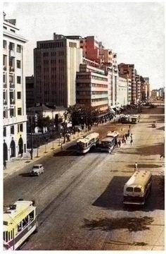 Bucuresti, b-dul Magheru Buildings, Street View, Memories, History, Bucharest, Cousins, Memoirs, Souvenirs, Historia