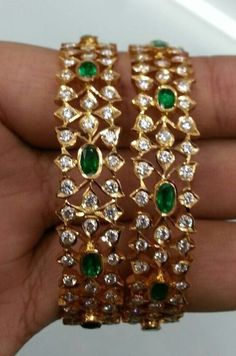 Buy Jewellery Online in India Gold Bangles Design, Gold Earrings Designs, Gold Jewellery Design, Silver Bangles, Necklace Designs, Bridal Jewelry, Beaded Jewelry, Crystal Jewelry, Craft Jewelry