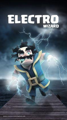 Electro Wizard Clash Royale Wallpaper