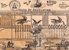 Belle le gallerie di Vintage Infodesign raccolte da @Loop: Book of Revelation (c.1925)