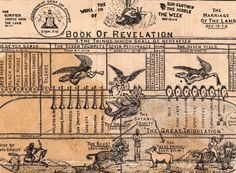 Belle le gallerie di Vintage Infodesign raccolte da @VisualLoop: Book of Revelation (c.1925)