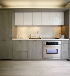 Tiny Kitchen - Tiny kitchen with intergrated dishwasher, microwave and refrigera