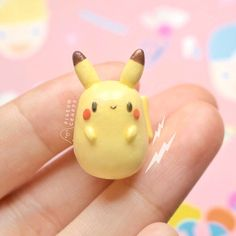 #polymer #polymerclay #polymerclaycharms #kawaii #cute #clay #claycharms #charms #art #handmade #miniature #love #diy #fimo #airdryclay #etsy #etsyshop #pikachu #pokemon #claycreations #pigeoncrafts