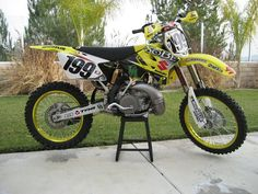 Travis Pastran's 2003 Sobe Suzuki RM250 by teyblyy, via Flickr
