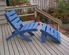 Items similar to Set: Cedar Chair & Footrest - Outdoor Comfort! - Available in 16 Colors - Patio and Deck Furniture - Garden Furniture by Laughing Creek on Etsy