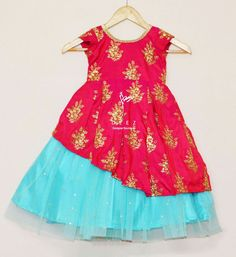 Kids dresses for Kids Party Wear Dresses, Kids Dress Wear, Baby Girl Party Dresses, Kids Gown, Dresses Kids Girl, Kids Outfits, Baby Dress Design, Frock Design, Frocks For Girls