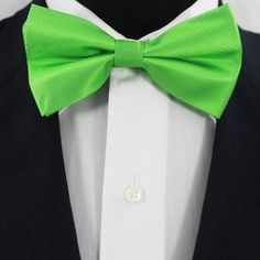 Paradise Green Bow Ties / Wedding Bow Ties