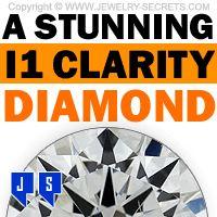 ►► A STUNNING I1 CLARITY DIAMOND ►► Jewelry Secrets