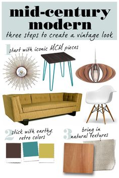 Love retro style? With these mid-century modern pieces from Overstock, you can recreate the vintage look for less.
