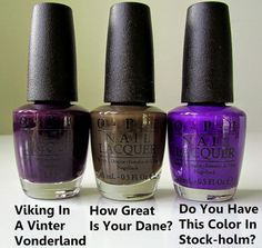 OPI Nordic Collection: Fall/Winter 2014 First Look - Beautygeeks