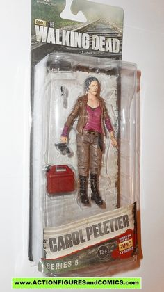 The Walking Dead CAROL PELETIER series 6 mcfarlane toys action figures moc