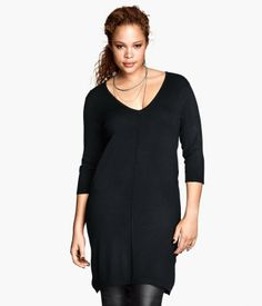 Product Detail | H&M US H&M+ Knit tunic $39.95