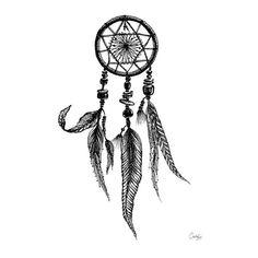 dreamcatcher Art Print by margelineaimee Dream Catcher Sketch, Dream Catcher Art, Dream Catcher Tattoo, Picasso, Sculpture Art, Sculptures, Doodle Quotes, Arte Sketchbook, Zen Doodle