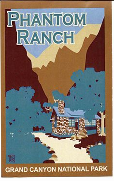 #Phantom Ranch Designed by Mary Colter, Grand Canyon National Park  #Travel United States multicityworldtravel.com We cover the world over 220 countries, 26 languages and 120 currencies Hotel and Flight deals.guarantee the best price