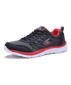 Black & Red Athletic Sneaker