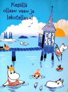 #moomins #postcard