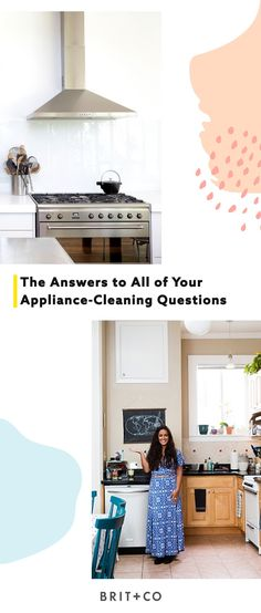 Read this to find all the answers to every single one of your appliance-spring cleaning questions.